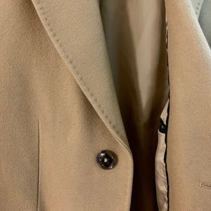 Zara Jackets & Coats - ZARA man Camel wool blend 3/4 coat